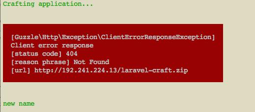 使用laravel new 创建内容不了项目- Laravel中文网问答社区